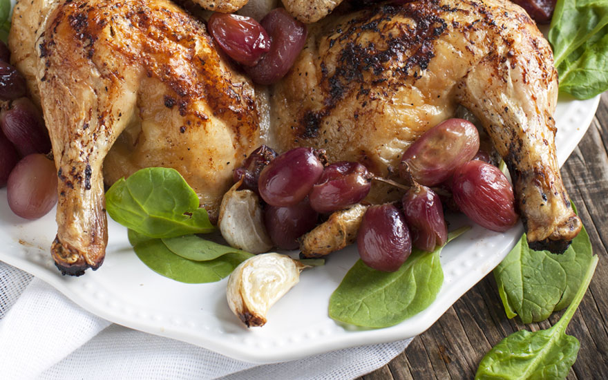pollo-uva